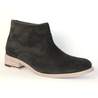 Susi Black Suede by J & M / Johnston & Murphy Shoes
