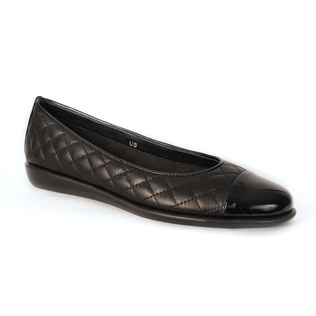 Rise A Smile Black by The Flexx Shoes