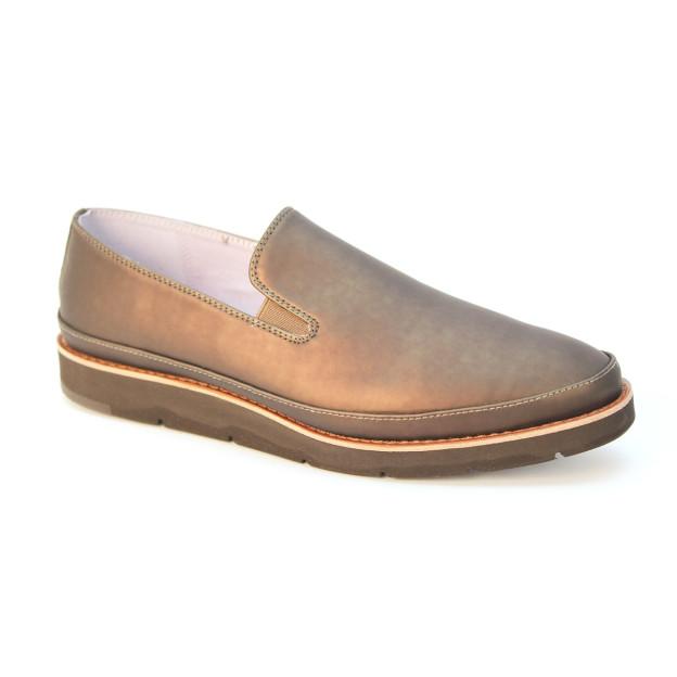Bree Slip On Bronze by J & M / Johnston & Murphy Shoes