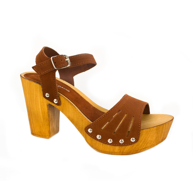 Coco Tobacco Suede by Charles David