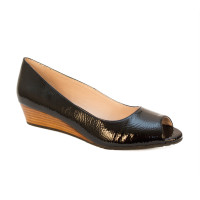 Willa Black Patent by Sudini Shoes