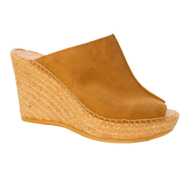 Cici Camel Suede by Andre Assous Shoes