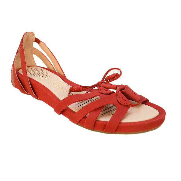 Kate Red Suede by Sudini Shoes