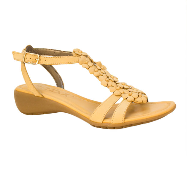 Gladiola Canary by The Flexx Shoes