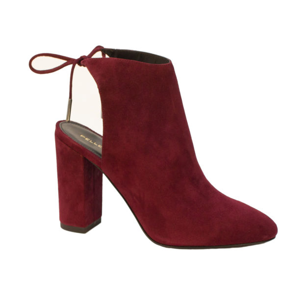Free dark Cherry Suede by Pelle Moda Shoes