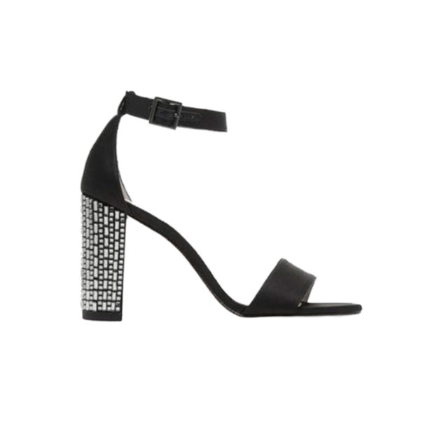 Bonnie Black Satin by Pelle Moda Shoes