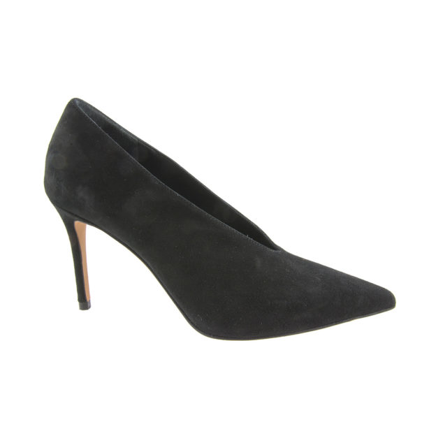 Portia Black Suede by Vince Shoes