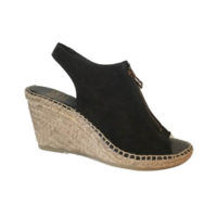 Rhea Black Suede by Andre Assous Shoes