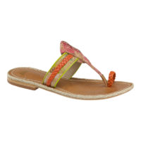 Wendy Orange/kiwi by J & M / Johnston & Murphy Shoes
