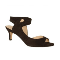Berti Black Suede by Pelle Moda Shoes