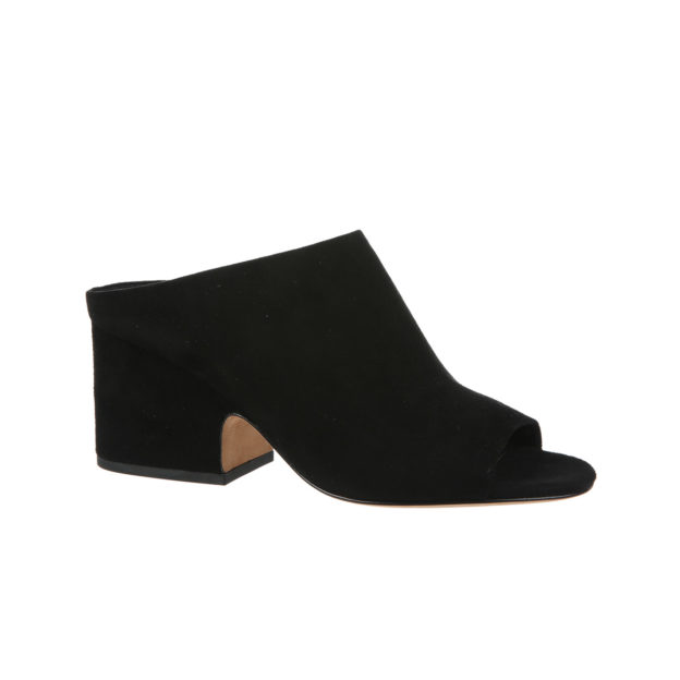 Petra Black Suede by Vince Shoes