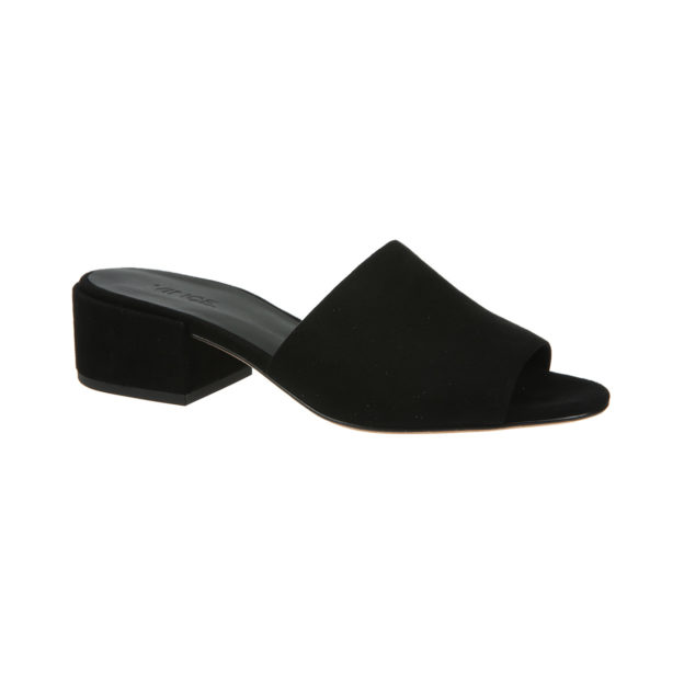 Rachelle Black Suede by Vince Shoes
