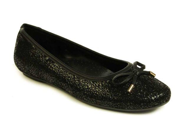 Signy Black Glitter by Vaneli Shoes