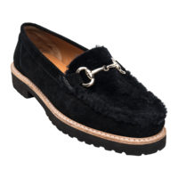 Pascale Black Shearling by Andre Assous Shoes
