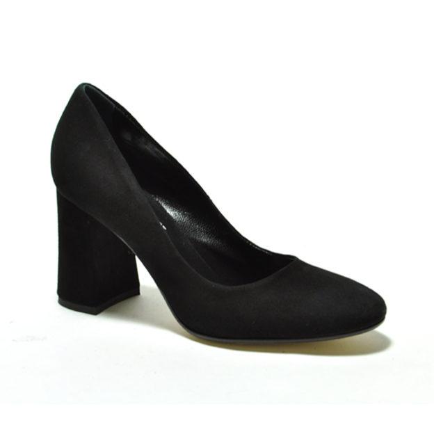 Hanette Black Suede by Cordani Shoes