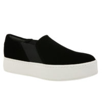 Warren Black Velvet by Vince Shoes