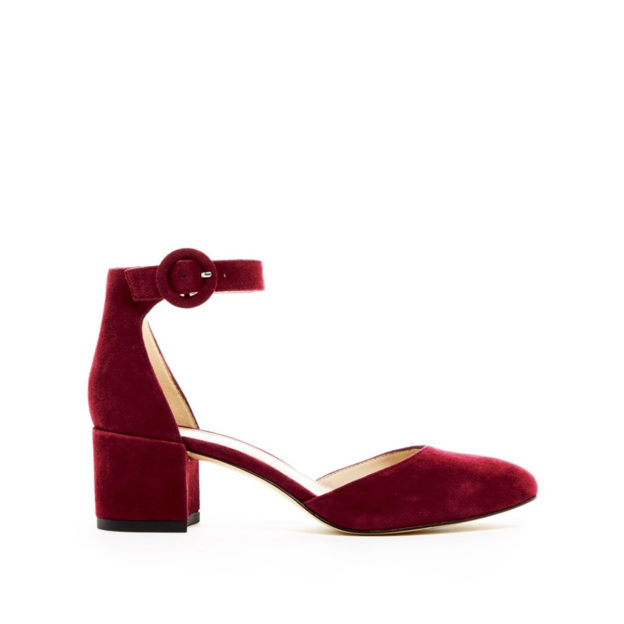Uma Bordo suede by Pelle Moda Shoes