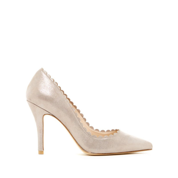 Vail Taupe Shimmer by Pelle Moda shoes